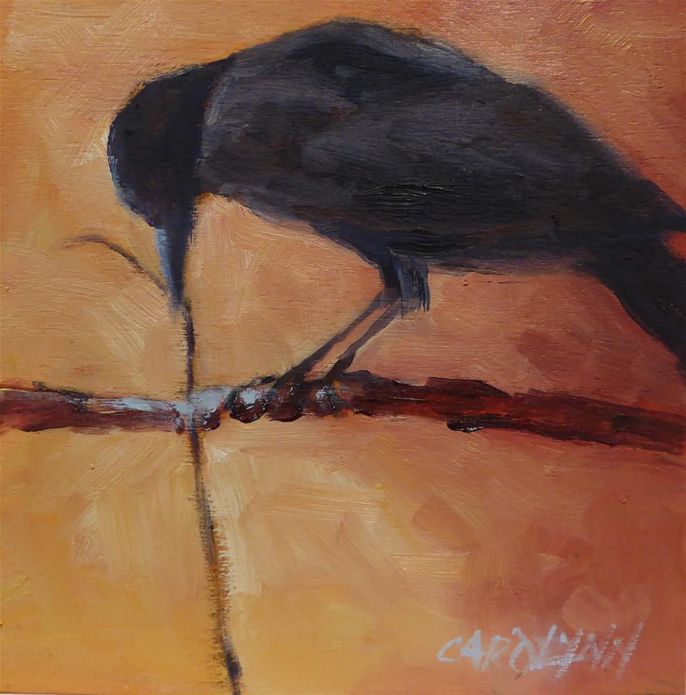 """""""Power Struggle"""" original fine art by Carolynn Doan"""