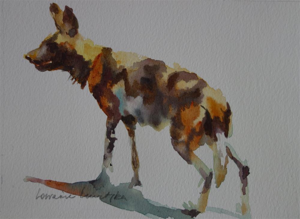 """""""Predator"""" original fine art by Lorraine Lewitzka"""