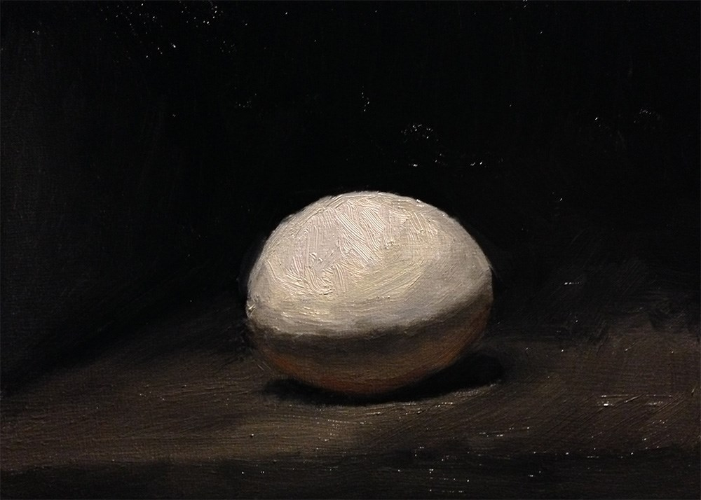 """Egg"" original fine art by Chris Beaven"