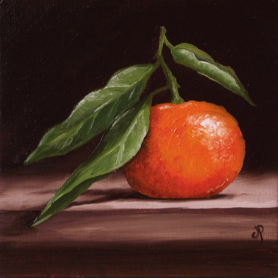 """Clementine"" original fine art by Jane Palmer"