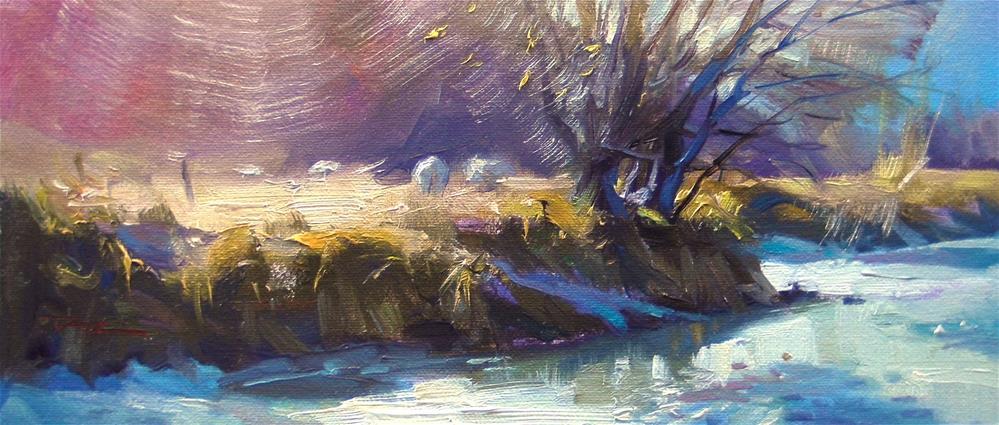 """Highlights"" original fine art by Richard Robinson"