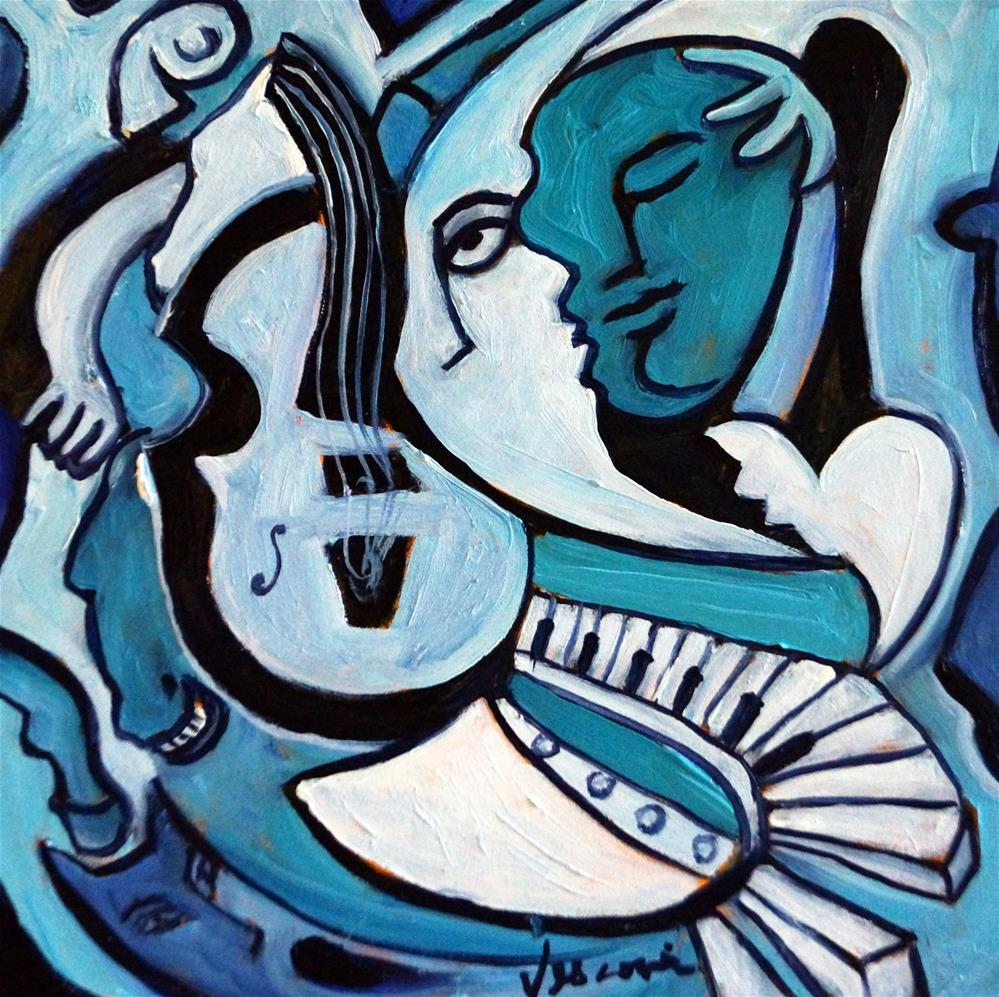 """""""L'amour ou Quoi?"""" original fine art by Valerie Vescovi"""