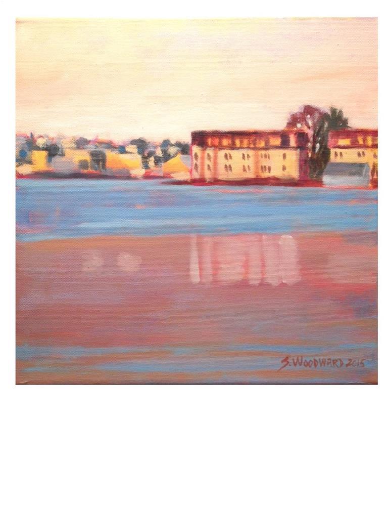 """Sunset Glow"" original fine art by Suzanne Woodward"