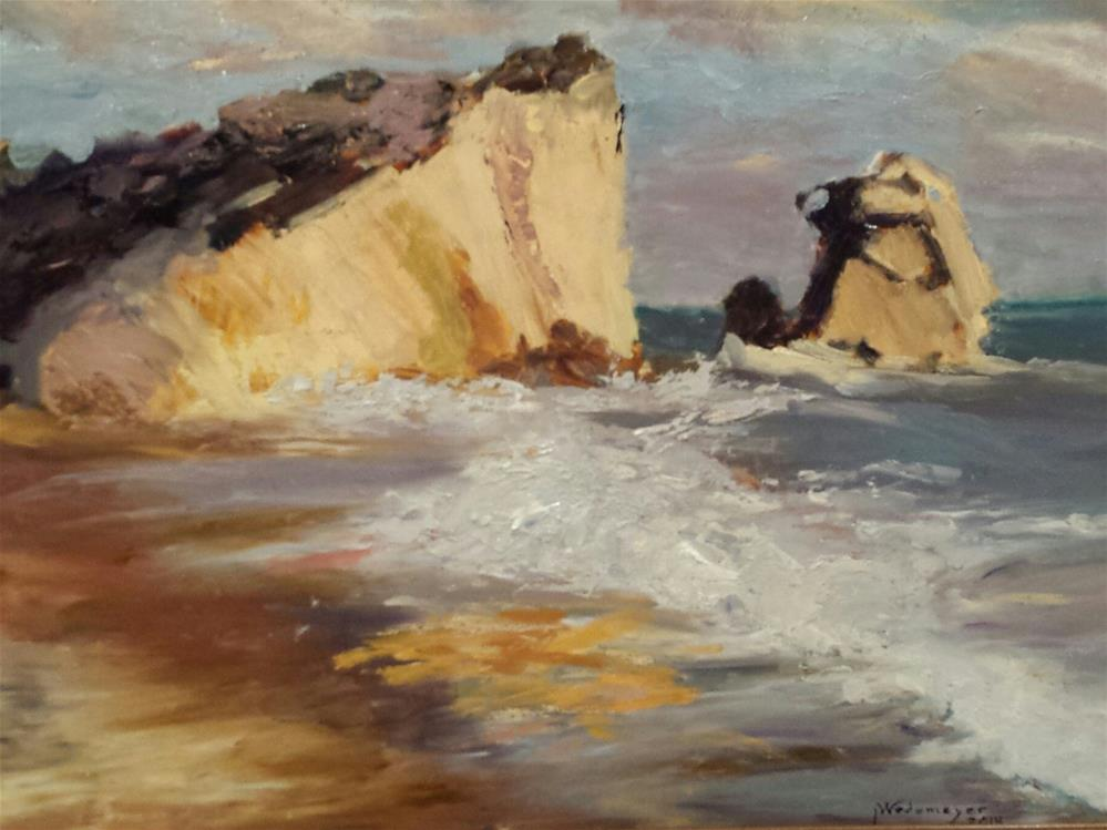 """Canon Beach"" original fine art by Pamela Wedemeyer"