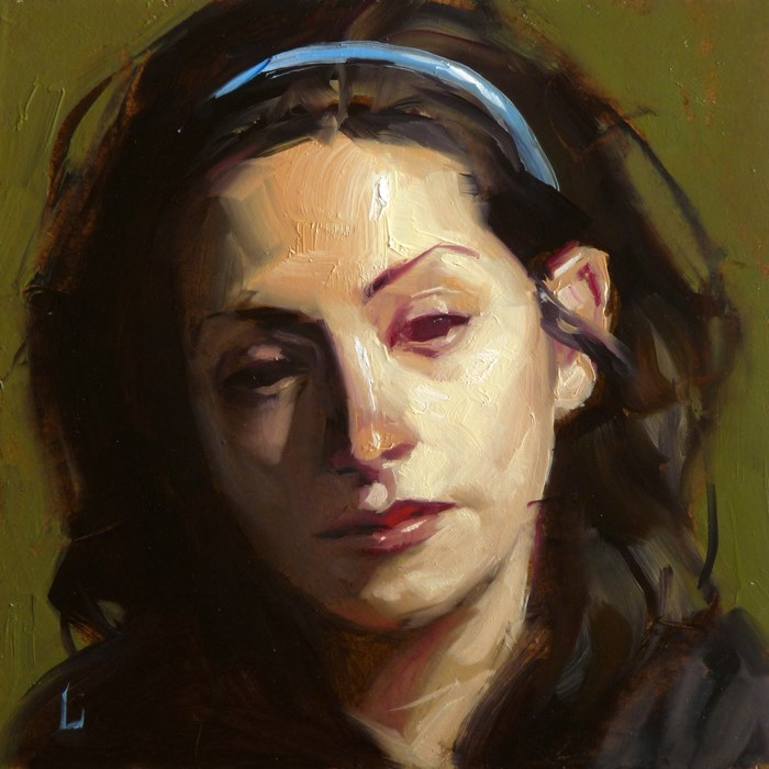 """Red Eye"" original fine art by John Larriva"