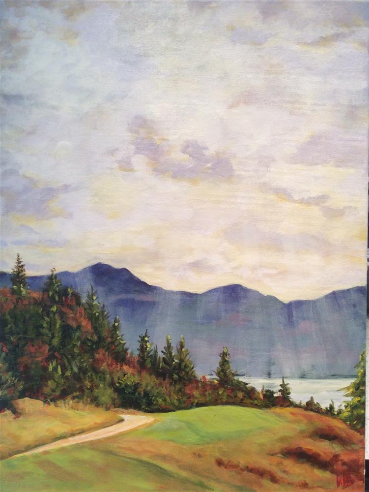 """Predator Ridge"" original fine art by wendy black"