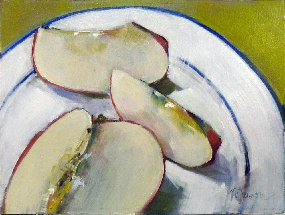 """Slices of Delicious"" original fine art by Barbara Benedetti Newton"