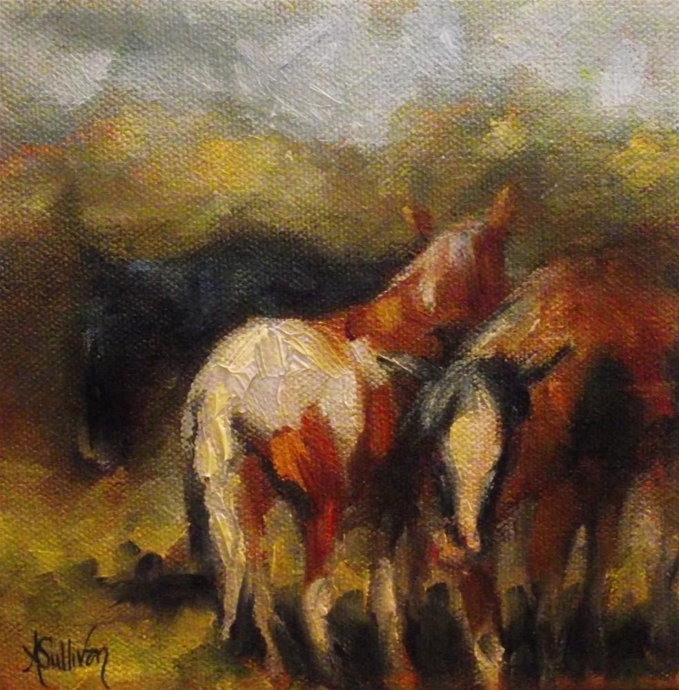 """Coming Or Going"" original fine art by Angela Sullivan"