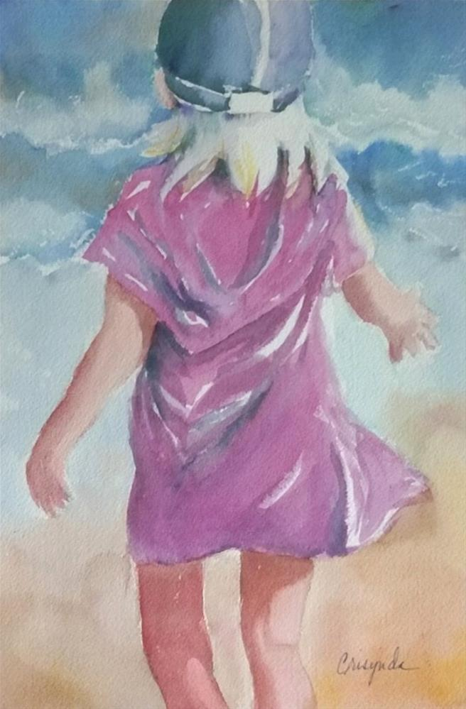 """Fearless"" original fine art by Crisynda Buss"