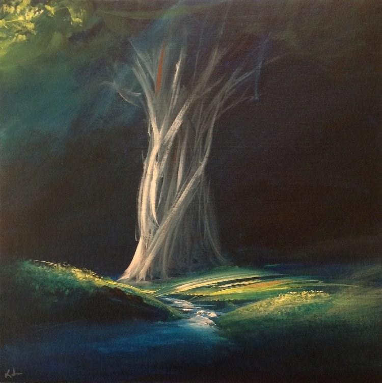 """One Hour's Gleam"" original fine art by David Kuhn"