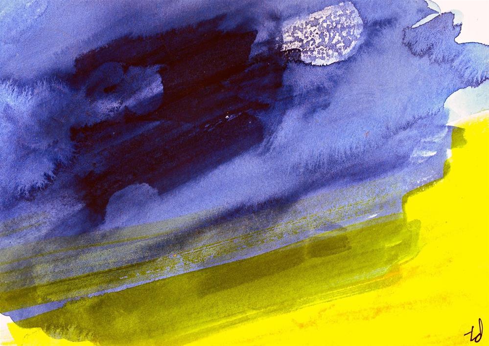 """Moon Shadow"" original fine art by Tonya Doughty"