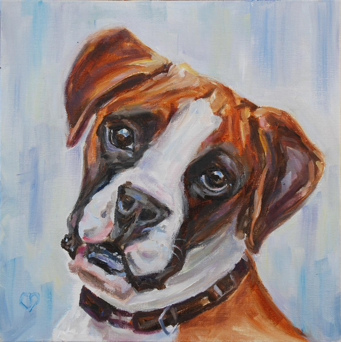 """Lucy"" original fine art by Carol DeMumbrum"