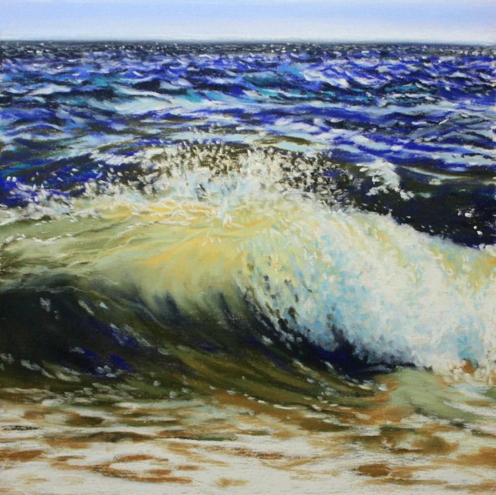 """""""'Sconset Surf"""" original fine art by Jill Bates"""