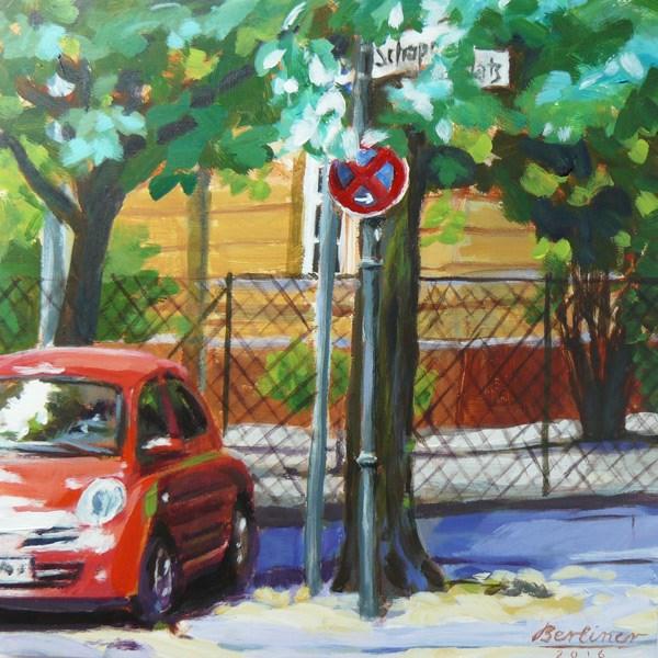 """058 Zeitreise"" original fine art by Anja Berliner"