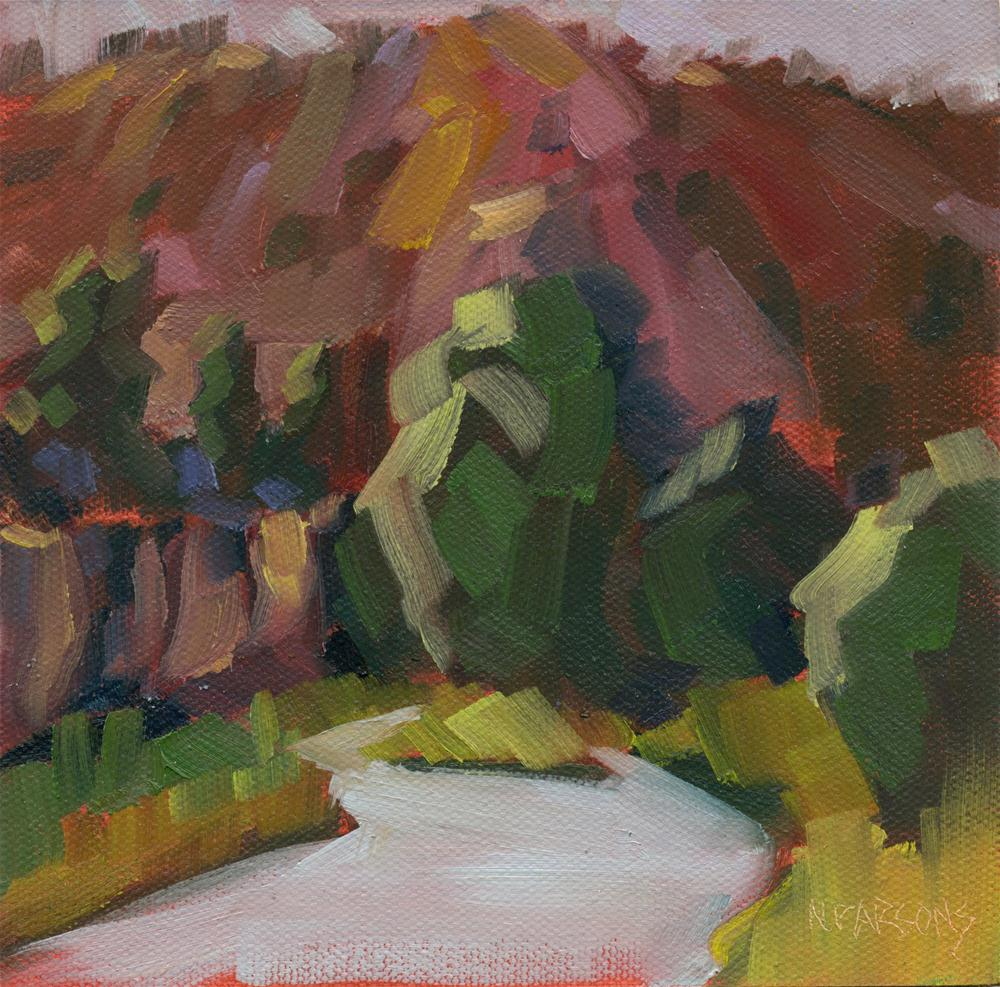"""Canyon Colors"" original fine art by Nancy Parsons"