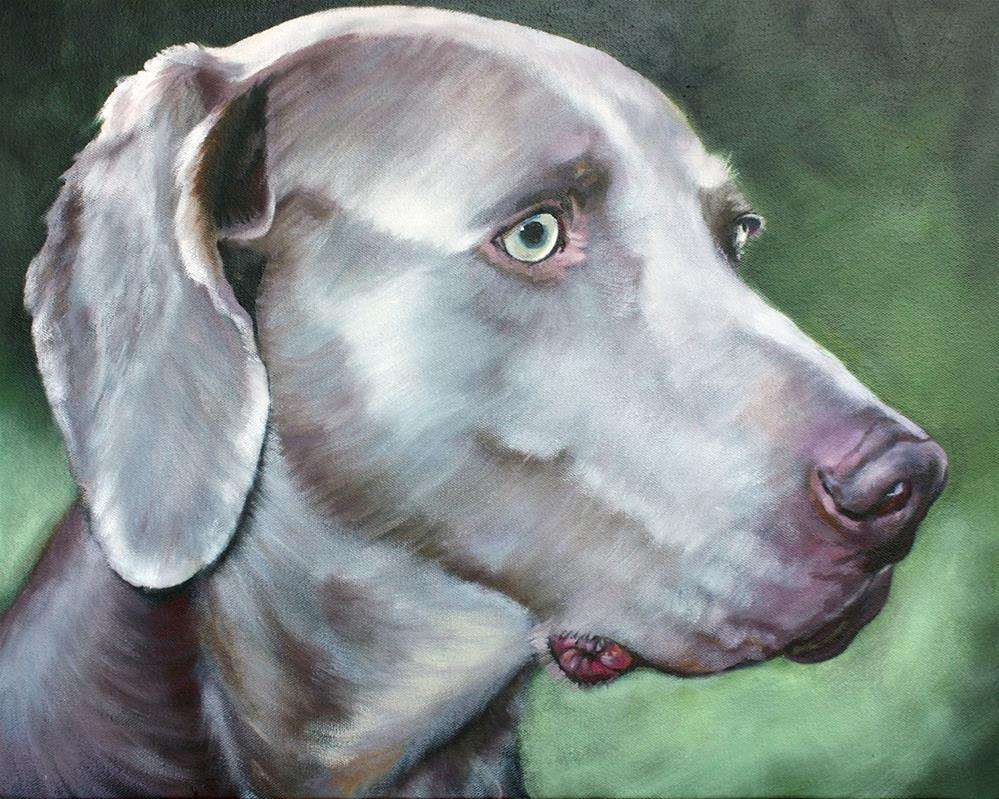 """JACKSON"" original fine art by Suzanne Berry"