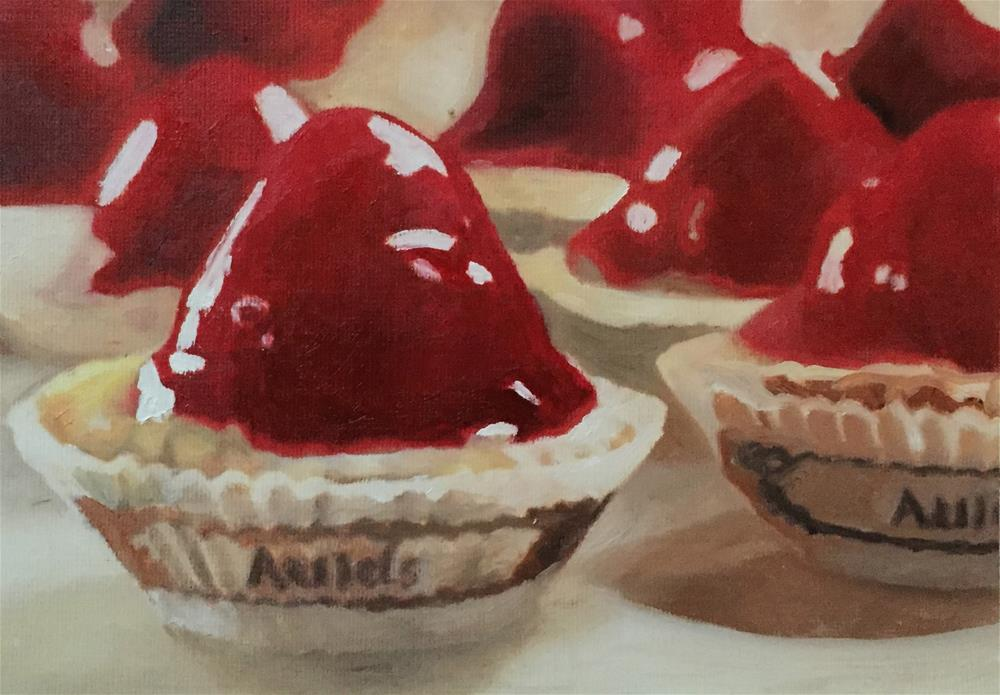 """Strawberry Tarts"" original fine art by John Cameron"