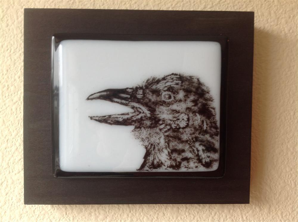 """Raven Portrait "" original fine art by Calloway Meiners"