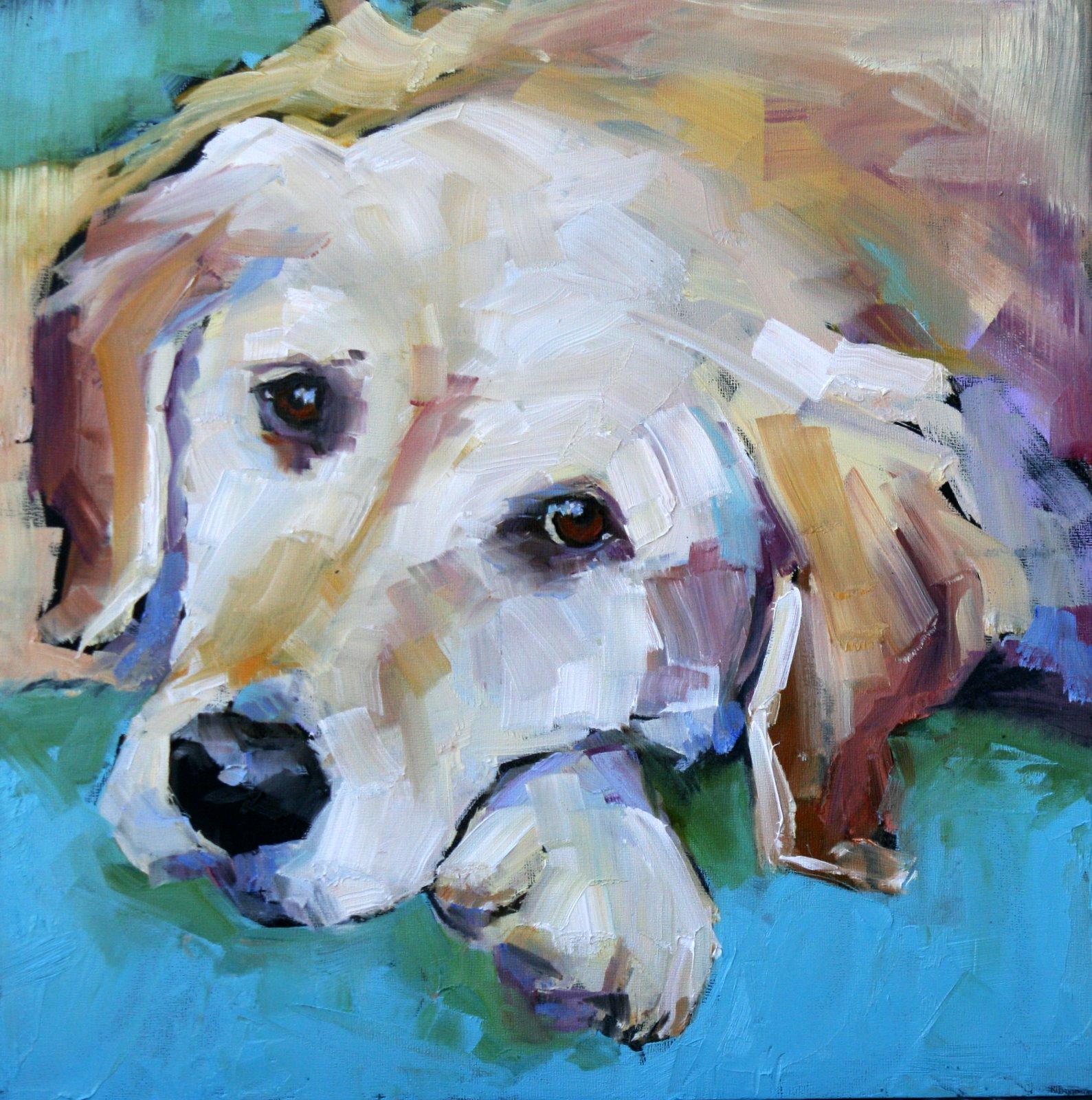 """""""paint me"""" original fine art by Carol Carmichael"""