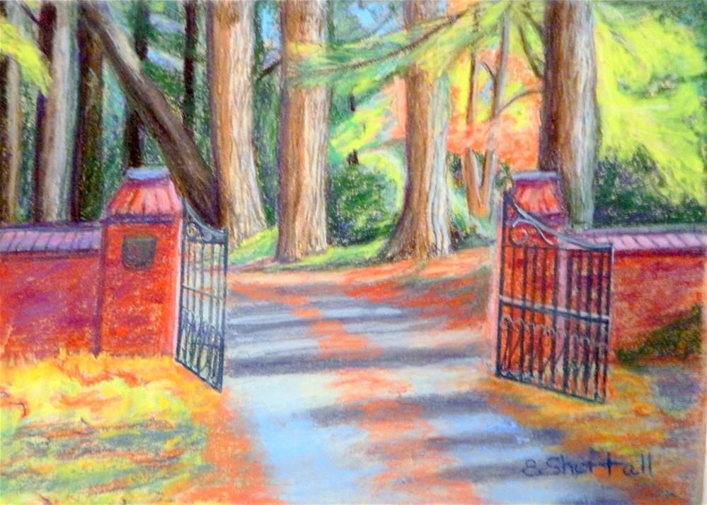 """Welcome, Come Right In."" original fine art by Elaine Shortall"