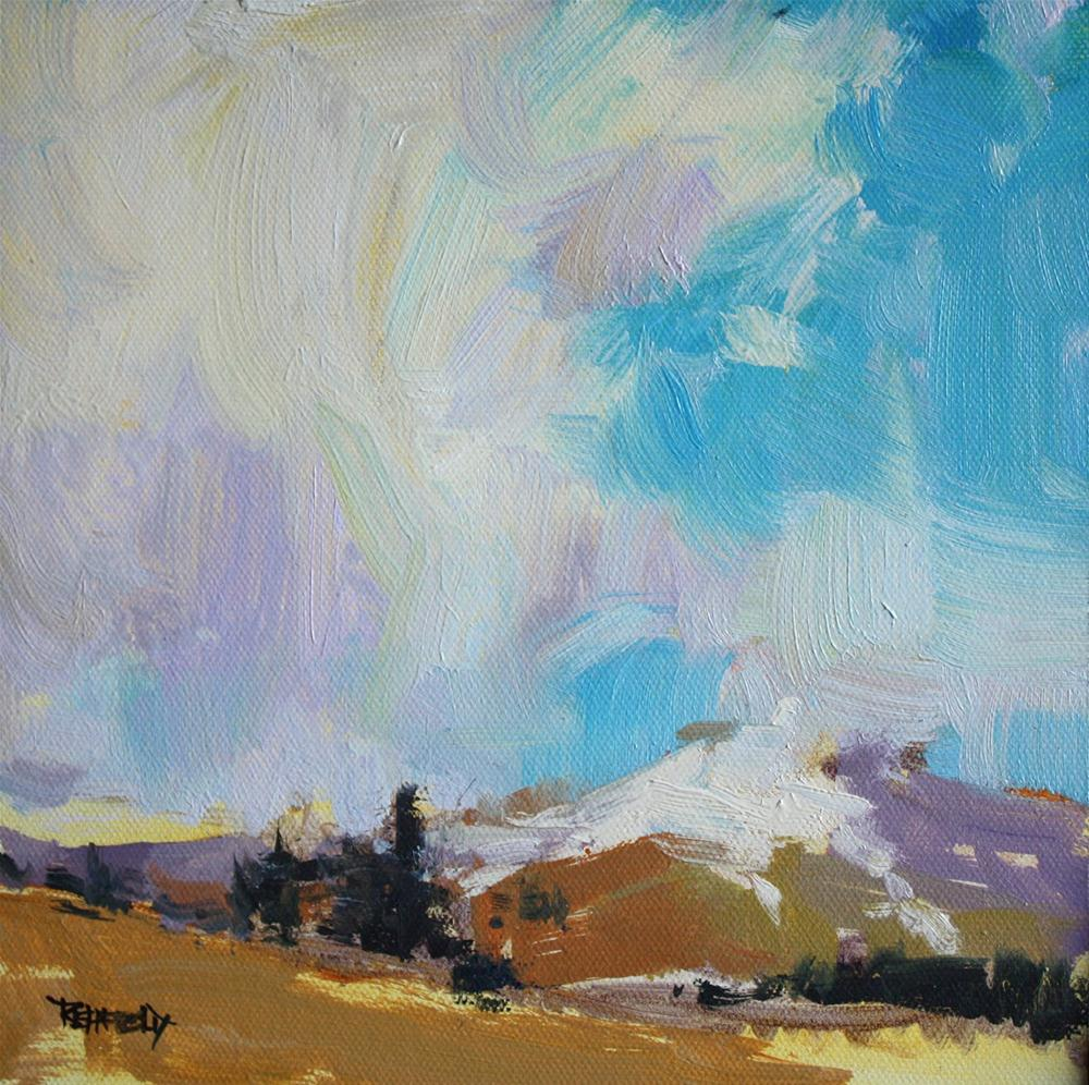 """Mt Hood"" original fine art by Cathleen Rehfeld"
