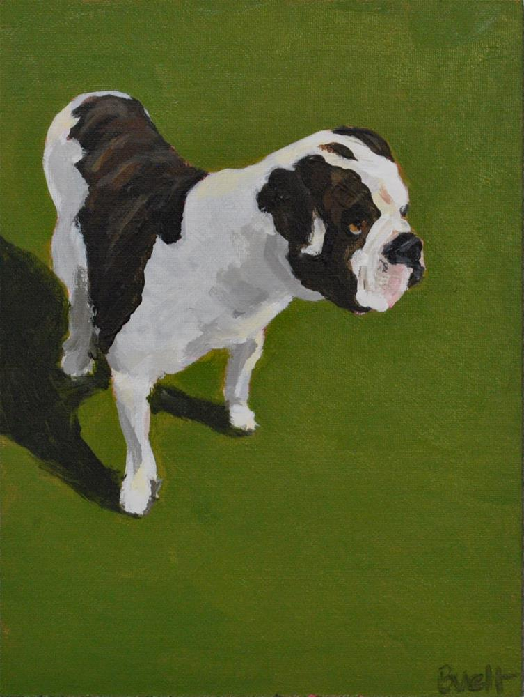 """Bentley"" original fine art by Shari Buelt"