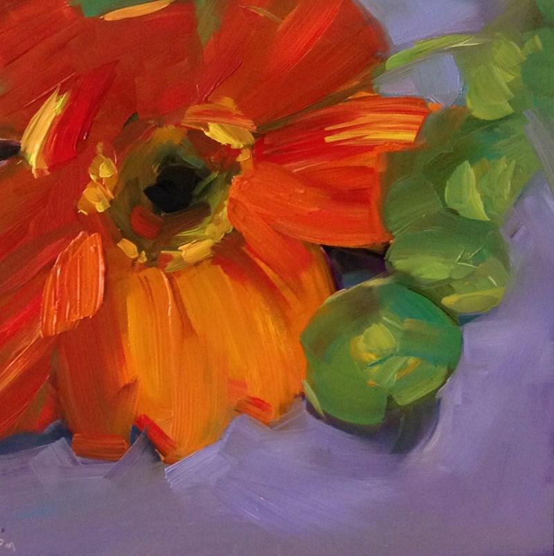 """Daisy Glow"" original fine art by Patti McNutt"