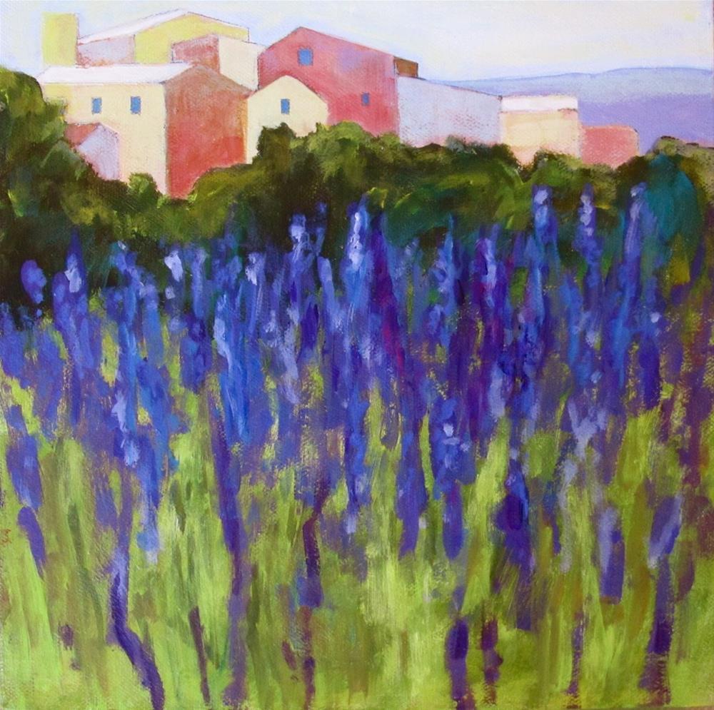 """Up Cllose"" original fine art by Patricia MacDonald"