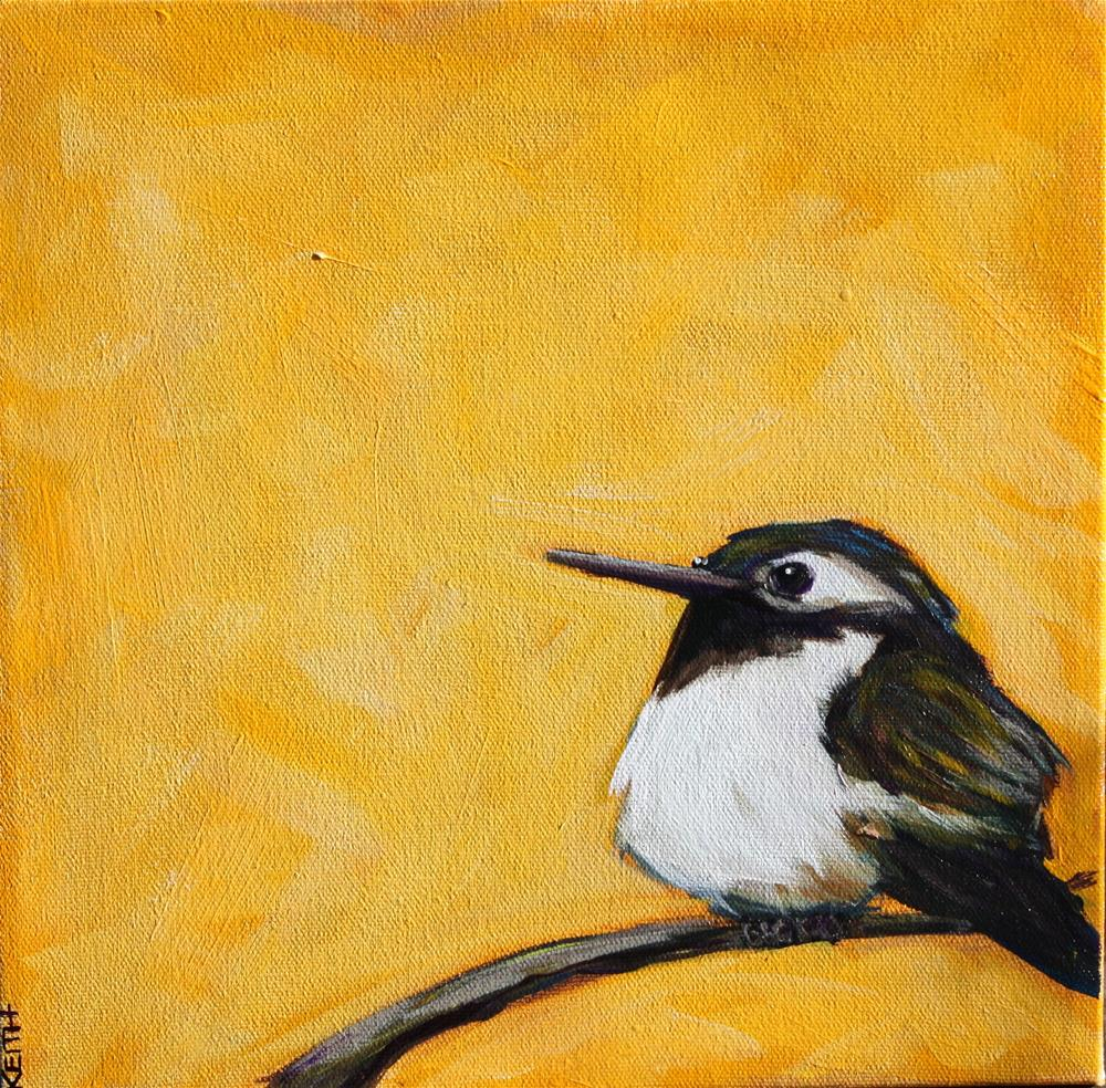 """Chubby Chirp"" original fine art by Kandice Keith"