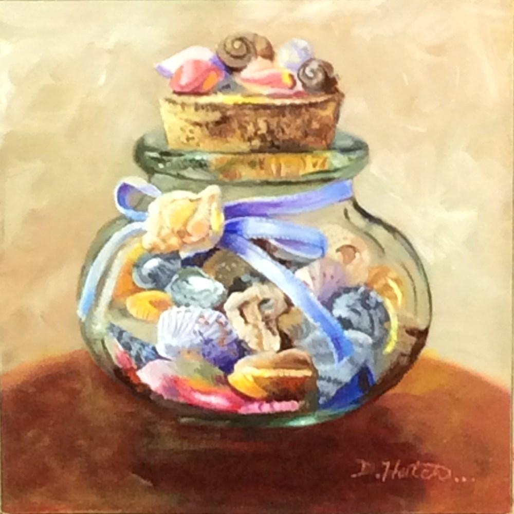 """""""First Gift"""" original fine art by Diane Hutchinson"""