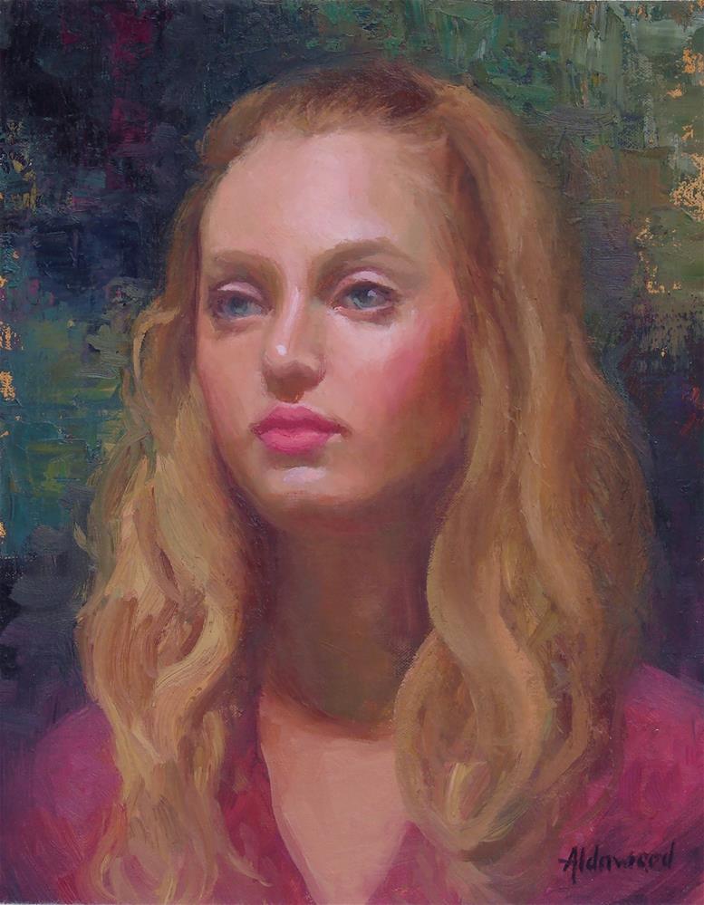 """Kaila"" original fine art by Sherri Aldawood"