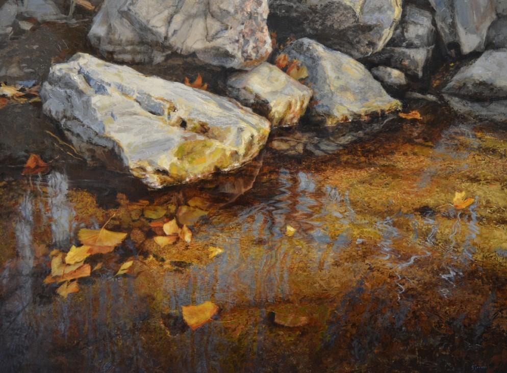"""Still Water"" original fine art by Susan N Jarvis"