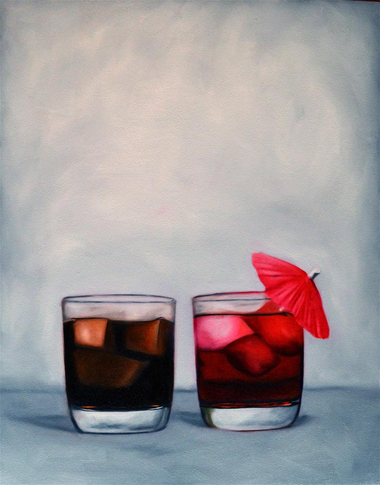 """His and Hers"" original fine art by Lauren Pretorius"