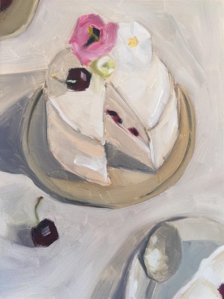 """""""350 Baked Bravado"""" original fine art by Jenny Doh"""