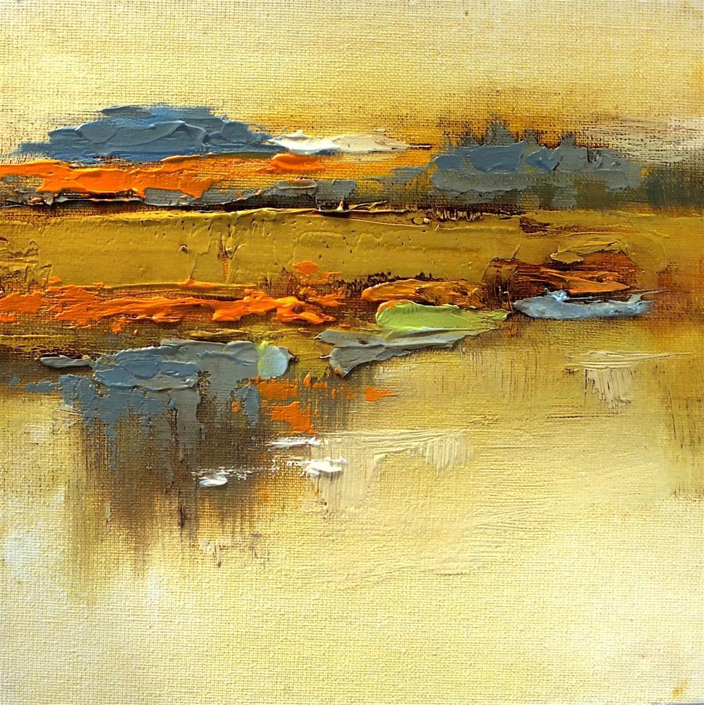 """Landscape 294"" original fine art by Ewa Kunicka"