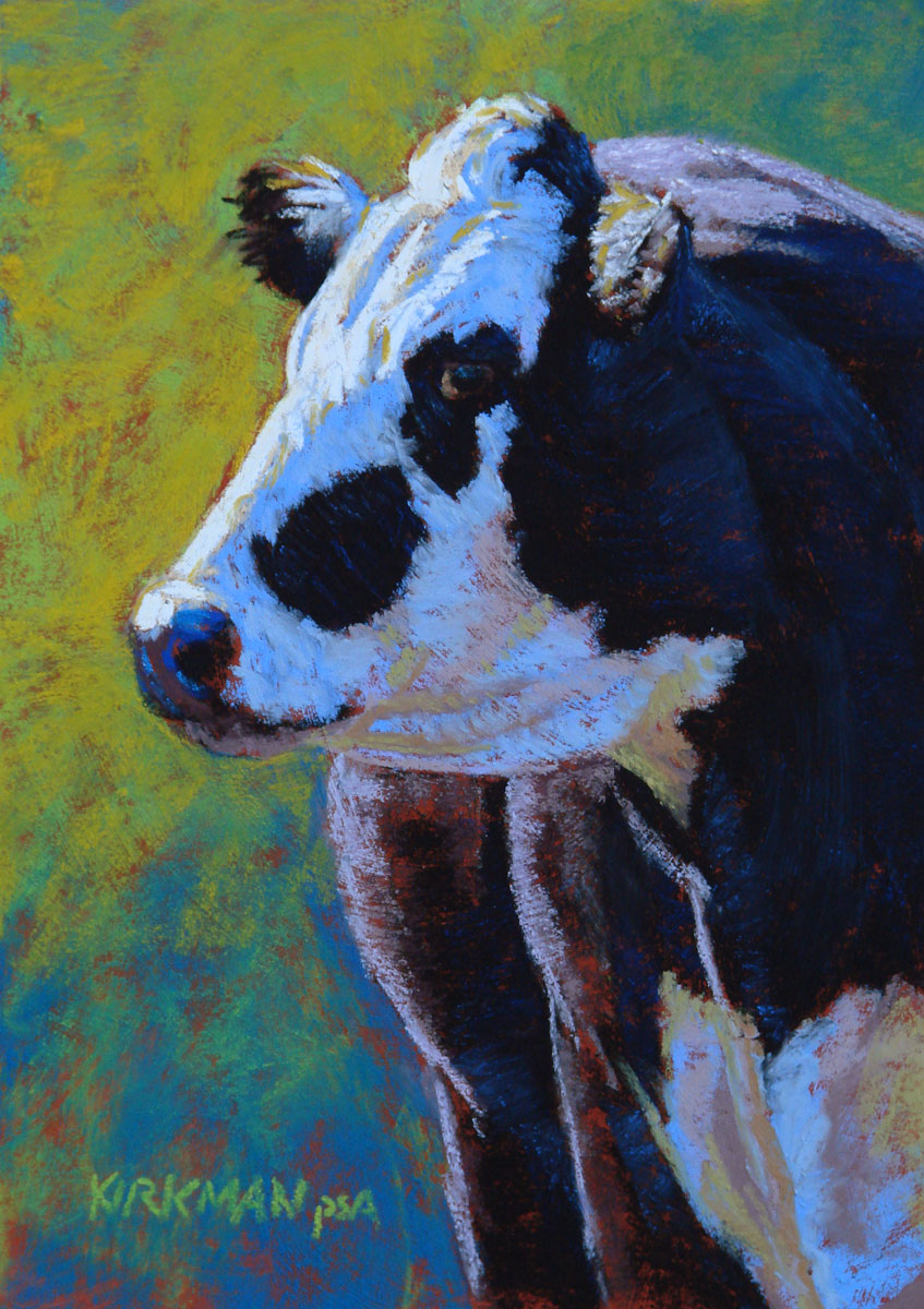 """Louie"" original fine art by Rita Kirkman"