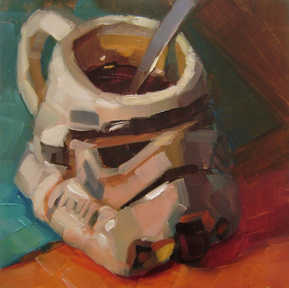 """Morning Trooper"" original fine art by Holly Storlie"