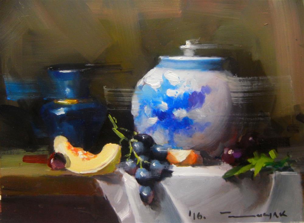 """Porcelain"" original fine art by Dragan Culjak"