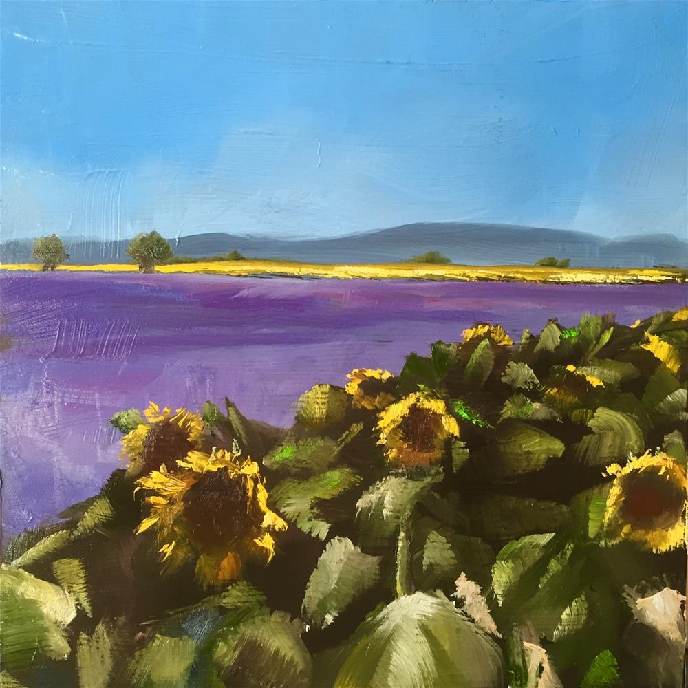 """Provence"" original fine art by Gary Bruton"