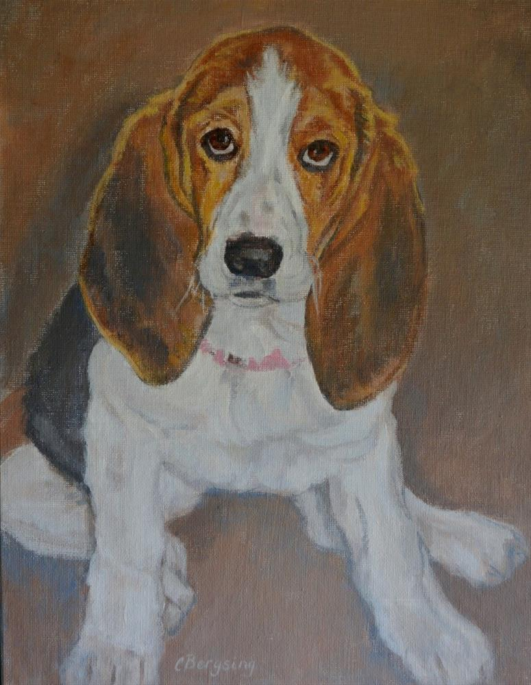 """Sadie"" original fine art by Cathy Bergsing"