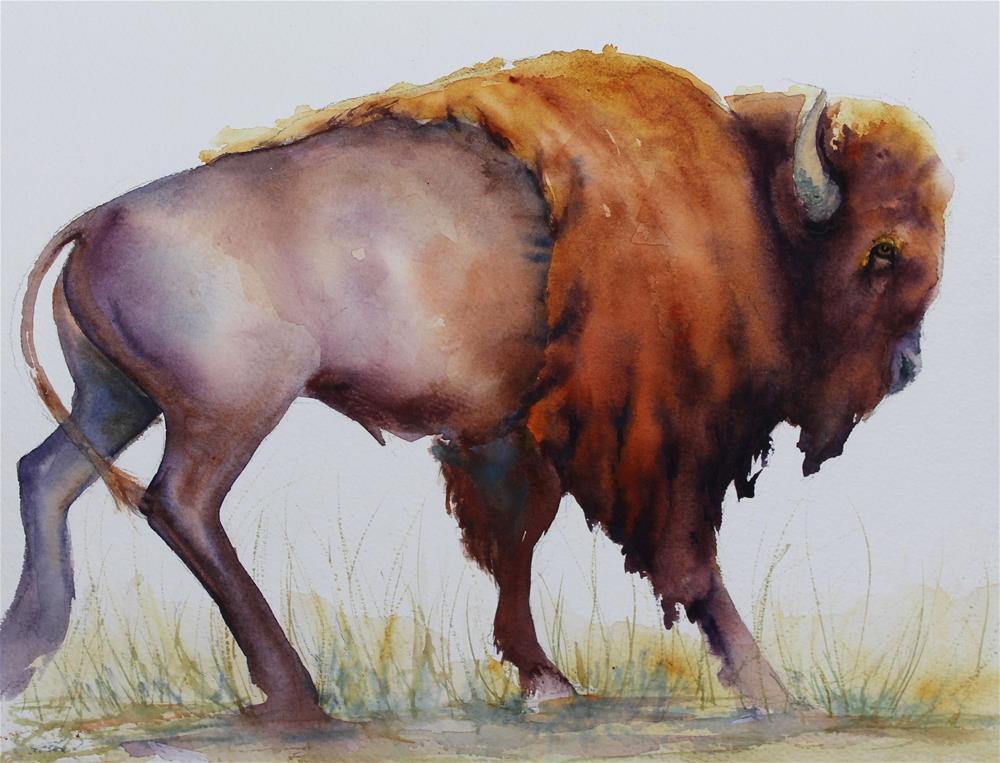 """Strolling Along"" original fine art by Colleen Drury"