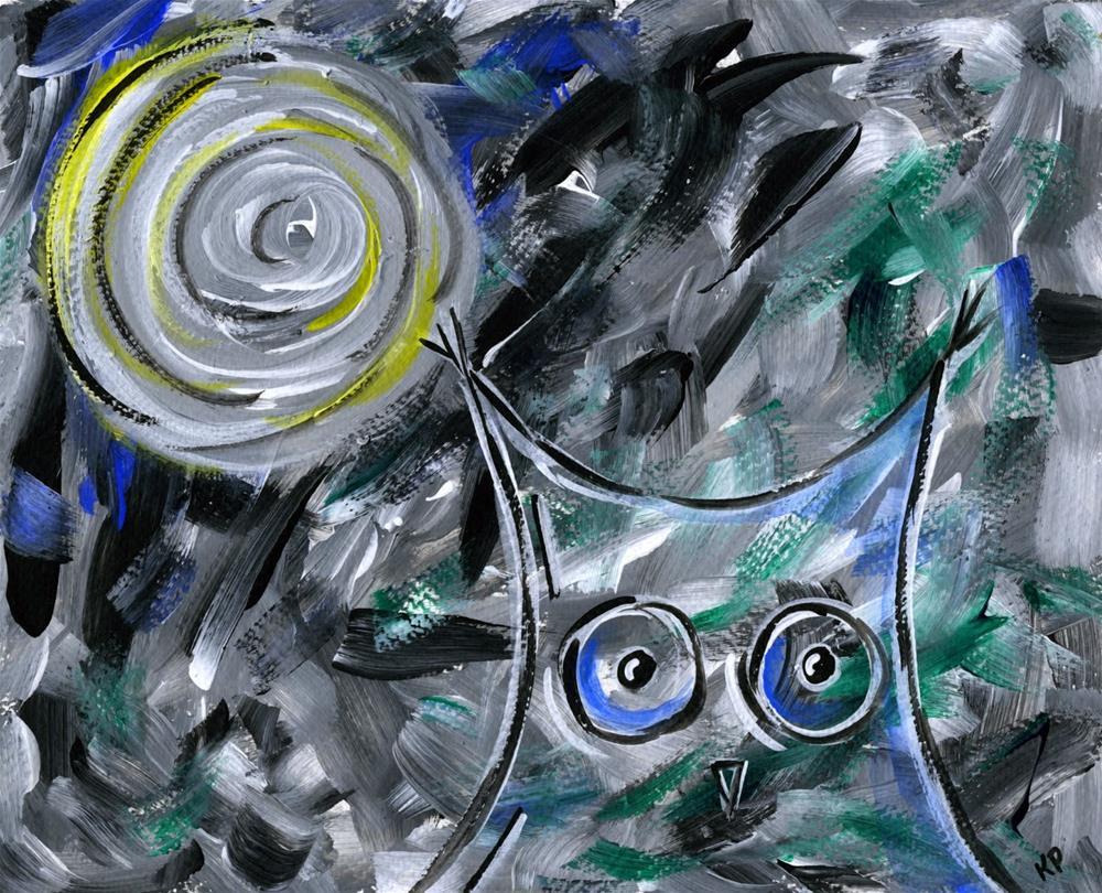 """Older and Wiser"" original fine art by Kali Parsons"