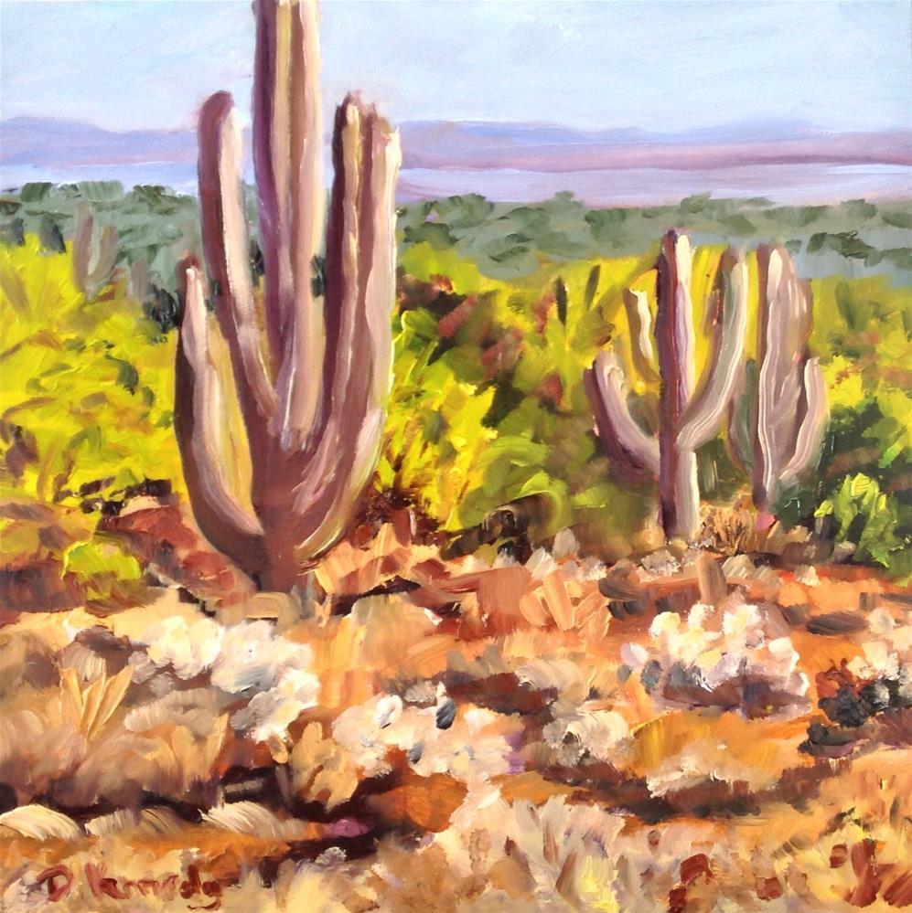 """Taliesin Afternoon"" original fine art by Debra Kennedy"