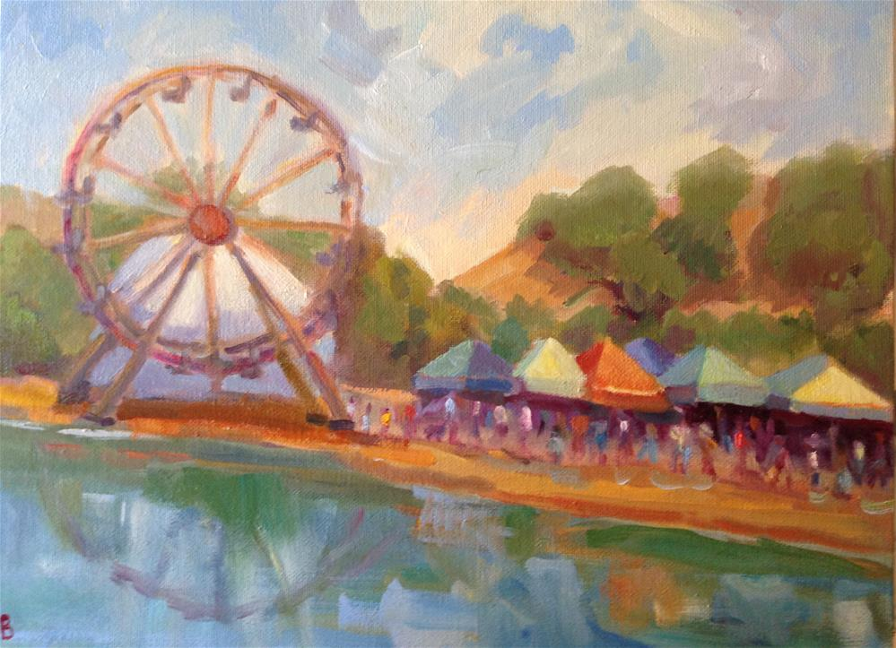 """Marin County Fair"" original fine art by Marcia Bergtholdt"