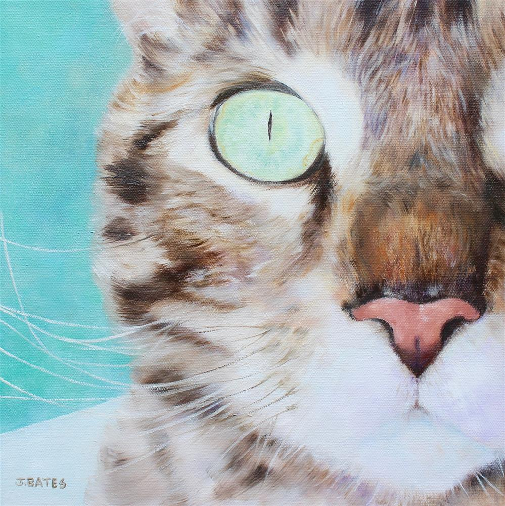 """Leonardo"" original fine art by Jill Bates"
