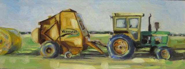 """MB'S VERMEER"" original fine art by Mb Warner"