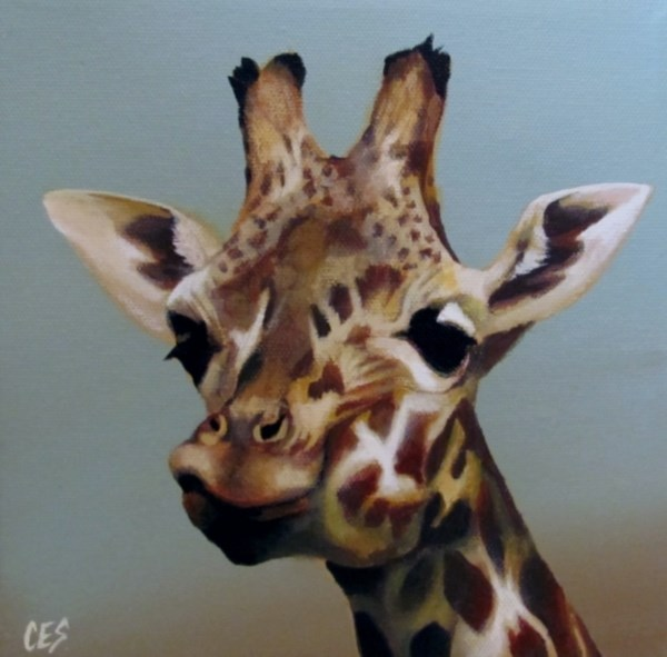 """Look Up Here"" original fine art by ~ces~ Christine E. S. Code"