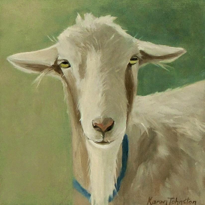 """""""Mr Smooth"""" original fine art by Karen Johnston"""