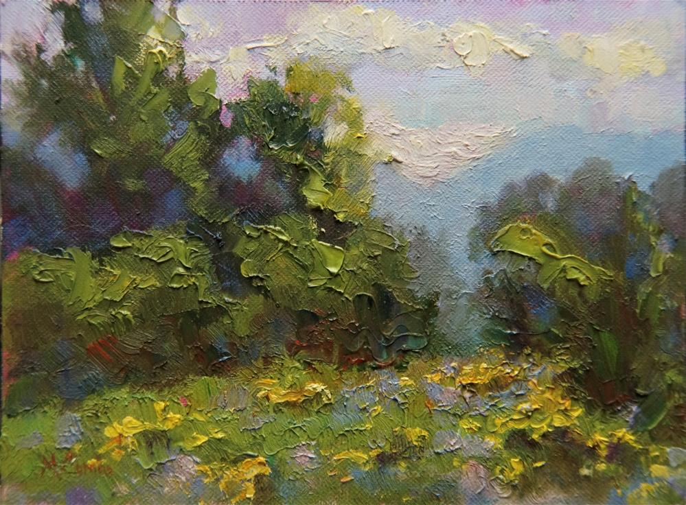 """September Stroll"" original fine art by Michele Combs"