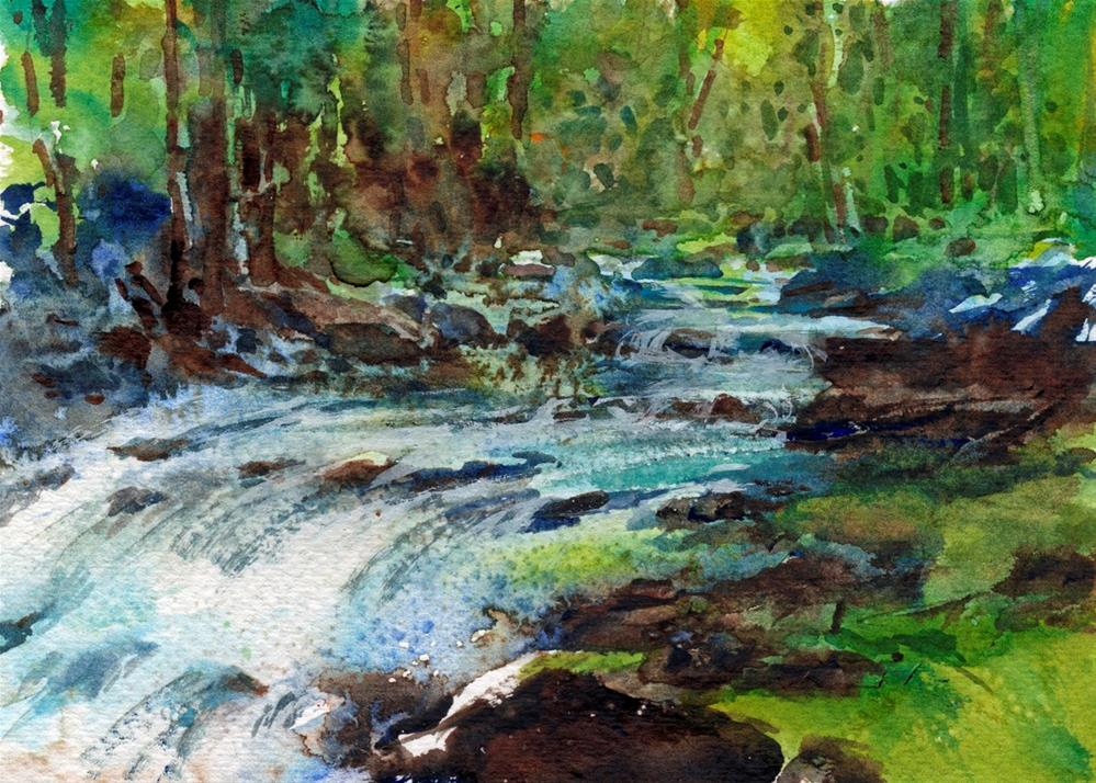"""In the Fairy Glen"" original fine art by Linda Henry"